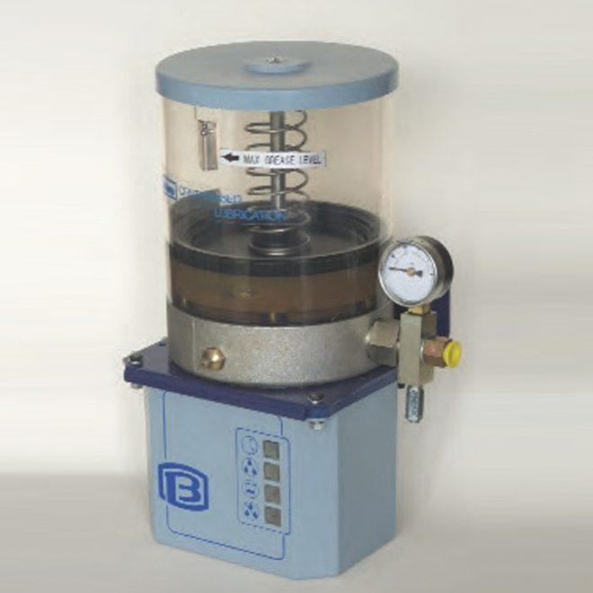 Motorised grease pump